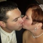 Michelle and Chris Kiss