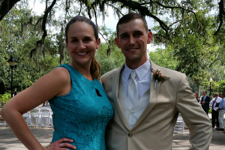 Jenny Geilhard and Michael Artley Wedding