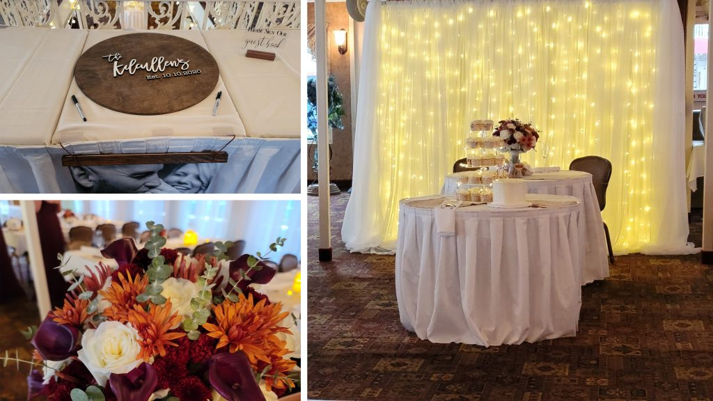 gateway clipper wedding decor
