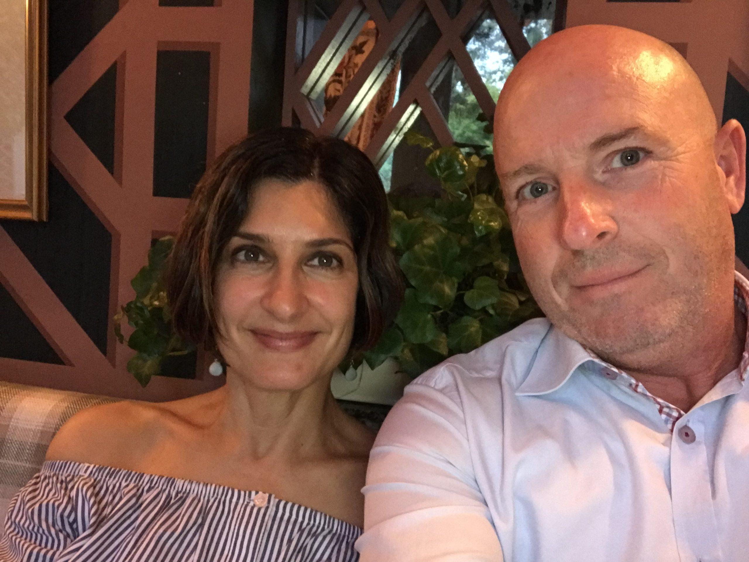 carole and mitch wedding 2021